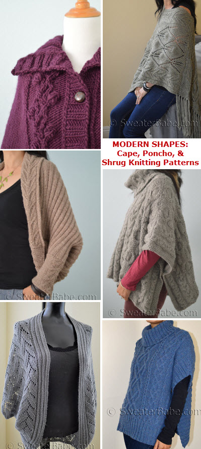 Modern Shapes To Knit Now Knitting Patterns Blog From Sweaterbabe